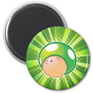 Extra Life Mushroom 2 Inch Round Magnet
