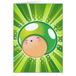 Extra Life Mushroom Blank Note Card