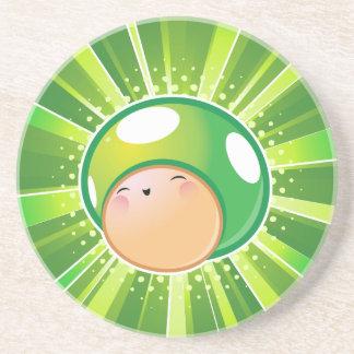 Extra Life Mushroom Coaster