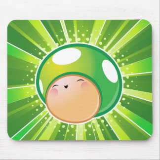 Extra Life Mushroom Mouse Pad
