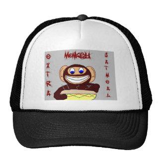 Extra Monkey Oatmeal Hatz Trucker Hat