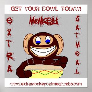 Extra Monkey Posterz! Poster