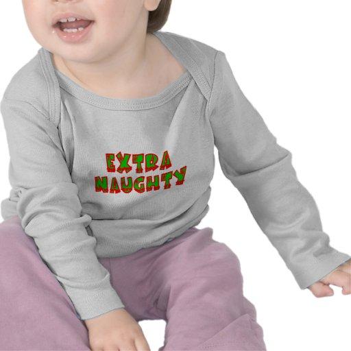 Extra Naughty Christmas T-shirts