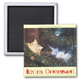 Extra Ornament 2 Inch Square Magnet
