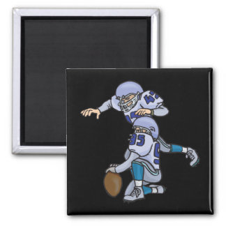 Extra Point 2 Inch Square Magnet