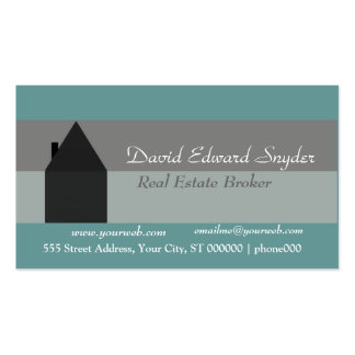 Extra Simple Home Maintenance House Business Card