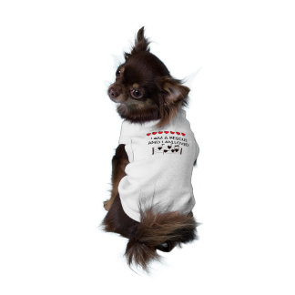 EXTRA SMALL RESCUE DOG T SHIRT