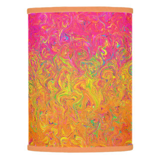 Extra Table Shade Fluid Colors Lamp Shade