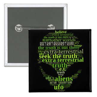 Extra Terrestrial Seek The Truth Buttons