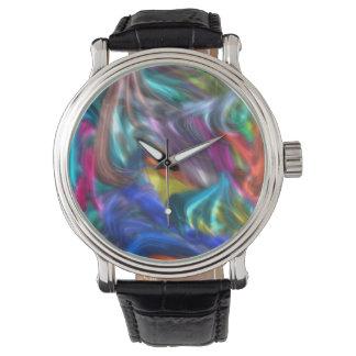 extracto 12, colorido relojes de pulsera