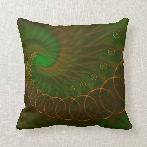 Extracto 340 un espiral anaranjado en verde