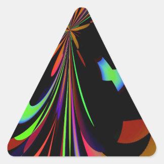 Extracto 84 pegatina triangular