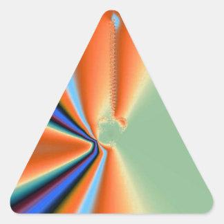 Extracto 90 pegatina triangular