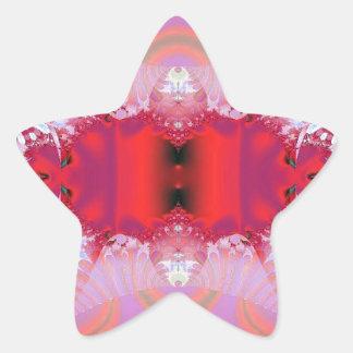 Extracto 91 pegatina en forma de estrella