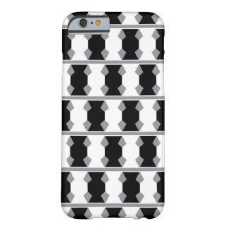 Extracto a cuadros blanco y negro funda barely there iPhone 6