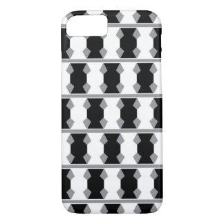 Extracto a cuadros blanco y negro funda iPhone 7