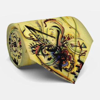 Extracto a la voz desconocida que pinta Kandinsky Corbata