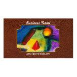 Extracto - acrílico - primitivos tarjetas de negocios