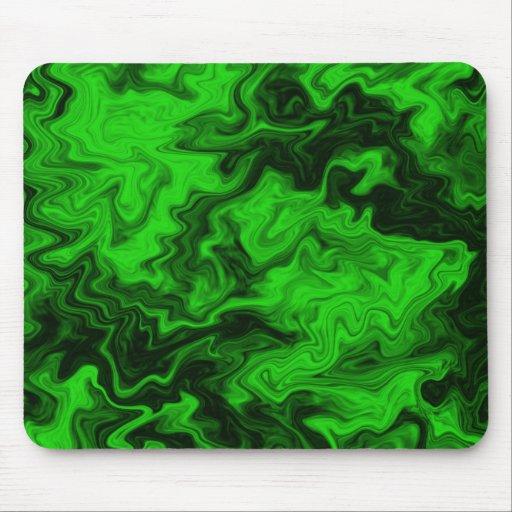 Extracto al azar verde tapetes de raton
