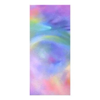 Extracto alegre de la mezcla del arco iris diseño de tarjeta publicitaria
