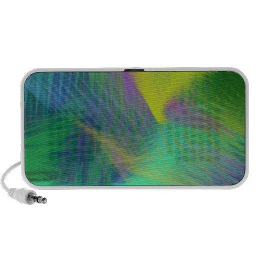 Extracto alegre del color de la diversión iPod altavoz