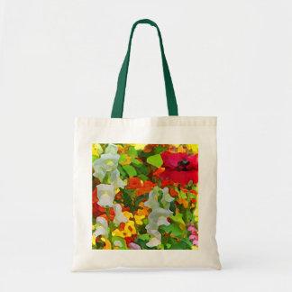 Extracto alegre del jardín bolsas de mano
