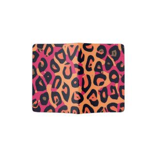 Extracto amarillo-naranja rosado oscuro del porta pasaporte