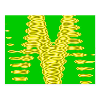 extracto amarillo salvaje postales