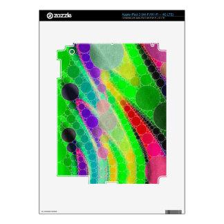 Extracto amarillo verde fluorescente iPad 3 skins