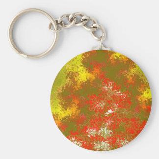 Extracto amarillo y quemado de oro del naranja llavero redondo tipo pin