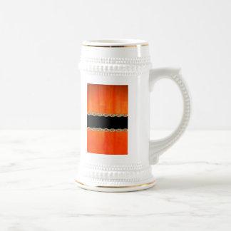 Extracto anaranjado de la cadena de la calabaza de taza de café