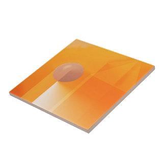 Extracto anaranjado de las sombras azulejo cuadrado pequeño