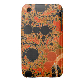 Extracto anaranjado de Sherbert iPhone 3 Case-Mate Funda