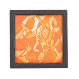 Extracto anaranjado del agolpamiento de Kara Willi Caja De Joyas De Calidad