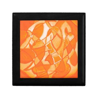 Extracto anaranjado del agolpamiento de Kara Willi Caja De Joyas