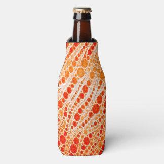 Extracto anaranjado fluorescente de la cebra enfriador de botellas