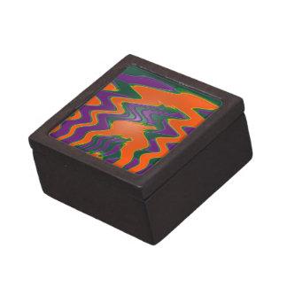 extracto anaranjado maravilloso de la onda caja de regalo de calidad