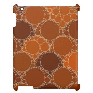 Extracto anaranjado rústico del círculo de Brown