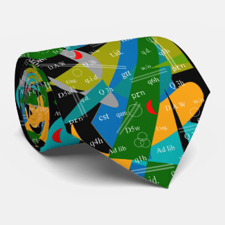 Extracto artsy 19 del lazo de las abreviaturas del corbatas personalizadas