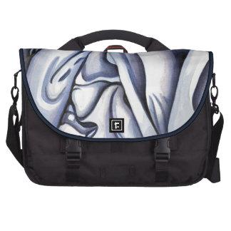 Extracto azul agraciado del paño bolsas para portátil