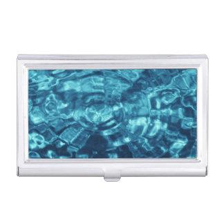 Extracto azul cajas de tarjetas de negocios