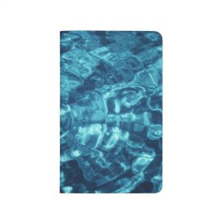 Extracto azul cuaderno