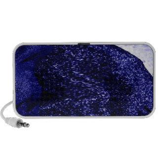 extracto azul de la arena iPod altavoz
