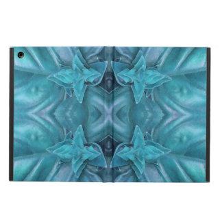Extracto azul de la formación de hielo