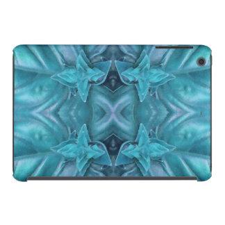 Extracto azul de la formación de hielo funda de iPad mini