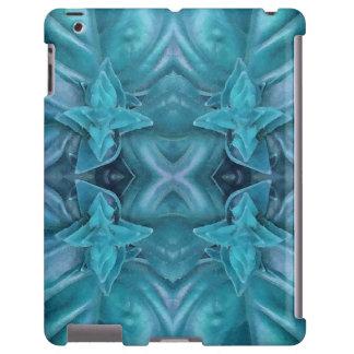 Extracto azul de la formación de hielo funda para iPad
