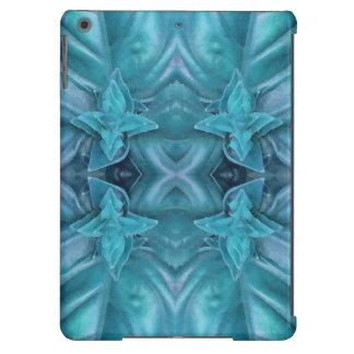 Extracto azul de la formación de hielo funda para iPad air