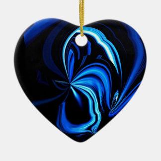 Extracto azul de la mariposa ornato