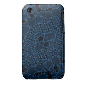 Extracto azul de la turquesa iPhone 3 Case-Mate funda
