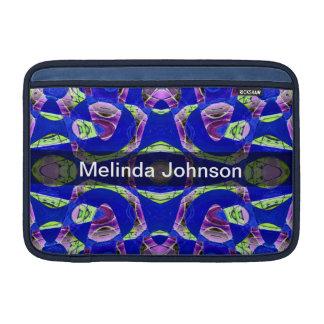 Extracto azul de lujo personalizado funda  MacBook
